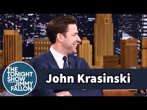 John Krasinski's Fly Was Down During a Dry Powder Performance