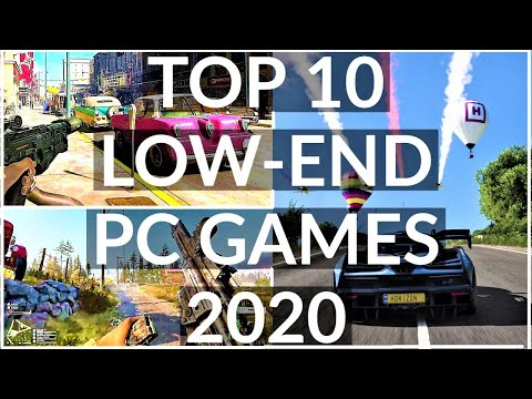 TOP 10 Low-End PC Games You Didn't Know Works In 2 GB RAM And Dual Core Processor PC/Laptop In 2020
