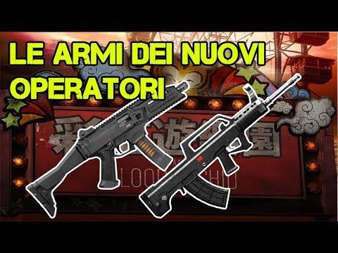 ARMI NUOVI OPERATORI - LESION / YING / ELA - BLOOD ORCHID - RAINBOW SIX SIEGE