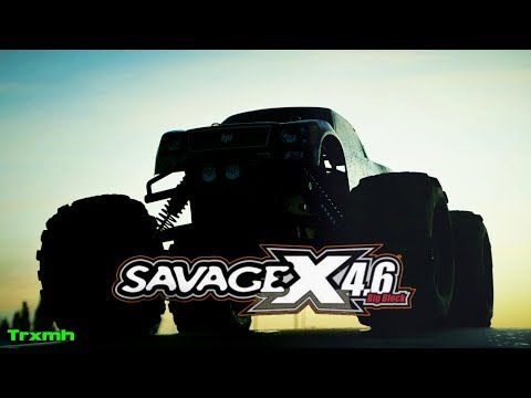 HPI Savage X 4.6 - Nitro Wheelies (2017)