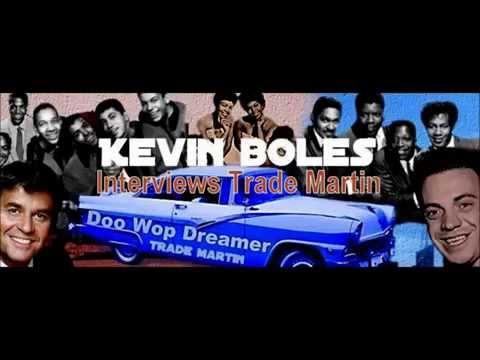 """AT THE HOP"" DJ Kevin Boles interviews Trade Martin on air."