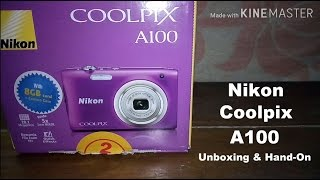 Nikon Coolpix A100 Unboxing and Hands-On