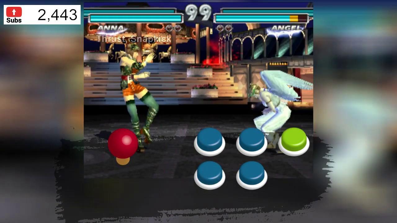 Tutorial Tekken Tag parte 14 - Técnicas Especiales - Anna