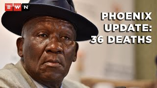 Police Minister General Bheki Cele, together with KwaZulu-Natal Premier Sihle Zikalala gave an update on the law enforcement and social cohesion interventions in Phoenix. This briefing follows the looting and violence in July in Gauteng and KwaZulu-Natal.  #Phoenix #KZNviolence
