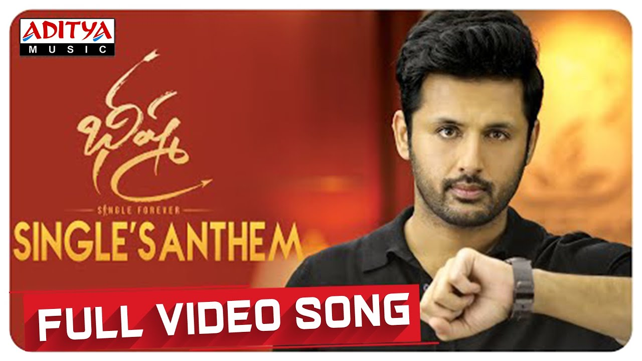 Singlesanthem Full Video Song Bheeshma Video Songs Nithiin Rashmika Mahati Swara Sagar Hd Video Social News Xyz