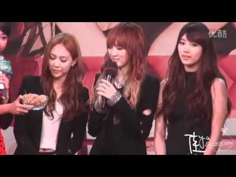 miss A's Fei & Jia's Touching Moment - Fei , Jia & Suzy Crying Part 1