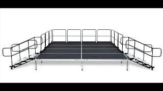 portable stage video, portable stage clips, nonoclip com