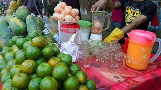 কমলার জুস | FRUIT NINJA of BD | Amazing Orange Cutting Skills | A Young Boy Selling Street Juice