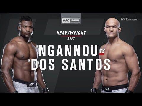 UFC on ESPN 3: Francis Ngannou vs Junior dos Santos Recap