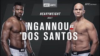 UFC on ESPN 3: Francis Ngannou vs. Junior dos Santos Recap