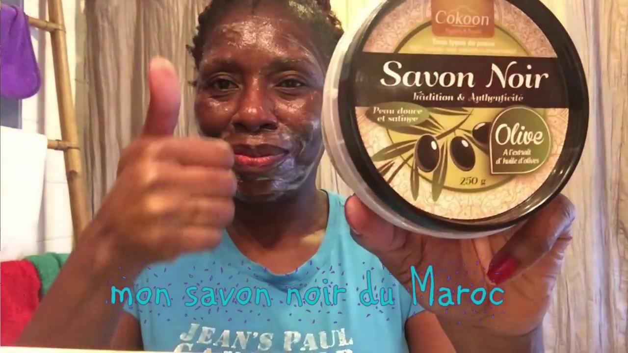 savon noir d'afrique contre boutons