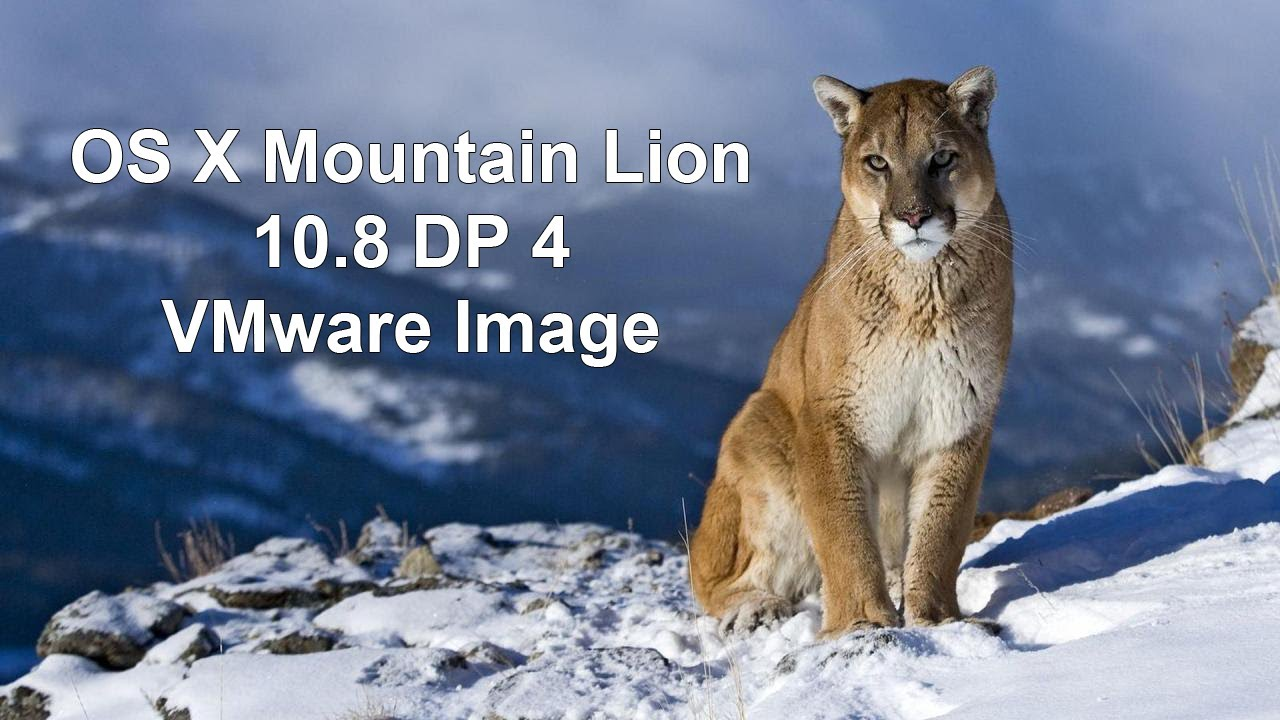 How To Install OS X Mountain Lion 10.8 DP4 On Windows PC ...