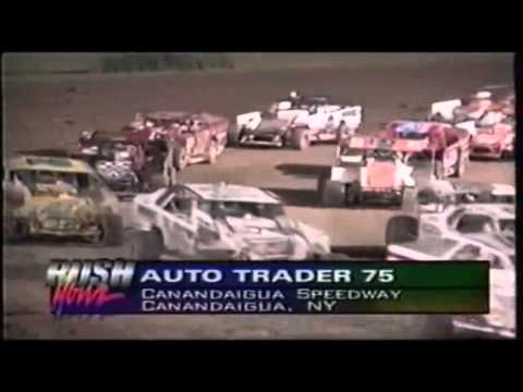 Dirt Track Racing 1996 (Auto Trader 75 Modified Super Dirt Series)