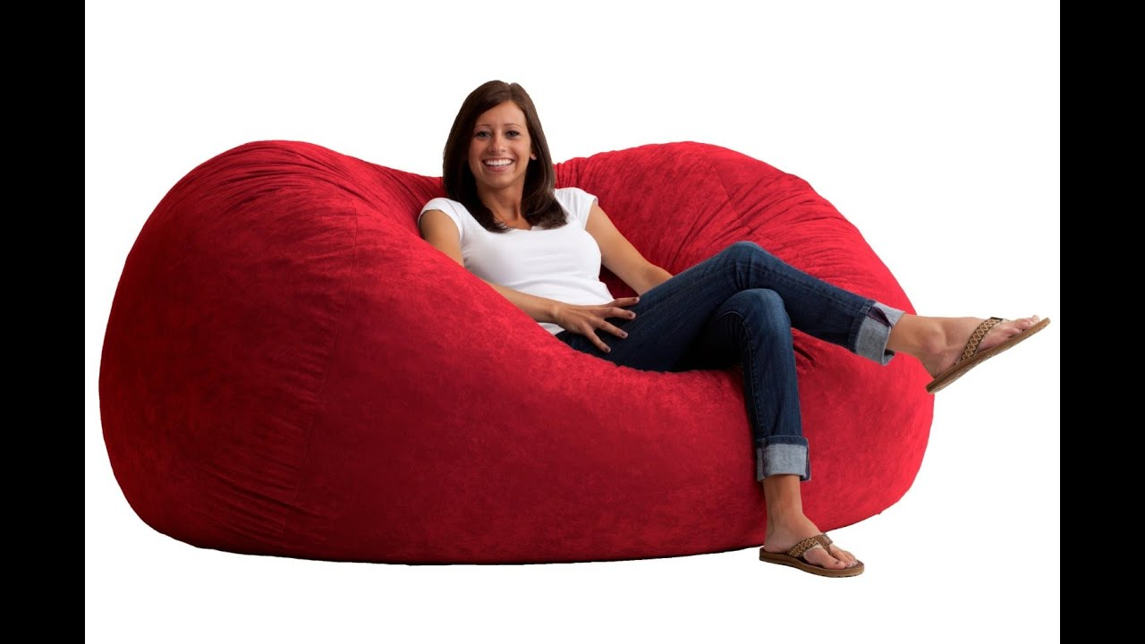 Large Bean Bag Chairs Ideas   YouTube