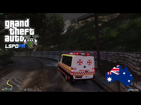GTA 5 - LSPDFR Australia - Emergency 000: Early morning wet weather patrol
