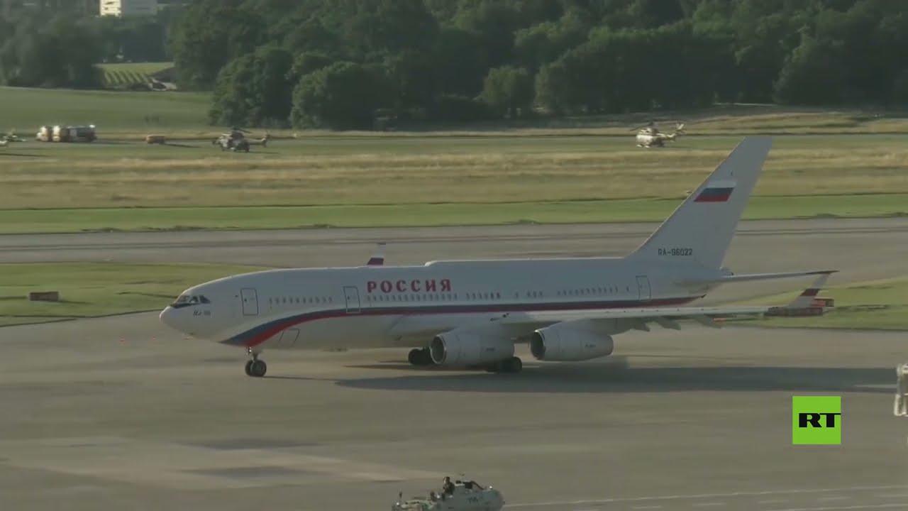 طائرة الرئيس الروسي تغادر سويسرا  - نشر قبل 5 ساعة