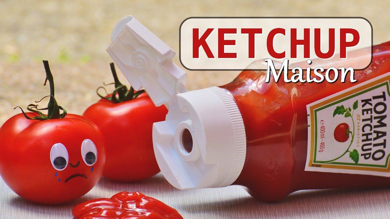 ketchup maison rapide et facile youtube. Black Bedroom Furniture Sets. Home Design Ideas