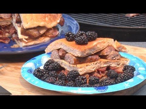 Blackberry Brandy Pancakes by the BBQ Pit Boys