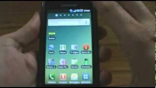 Galaxy S - Alterando as Configurações da Tela Principal - parte 1/2