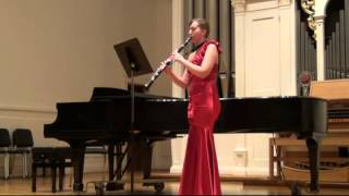 Riepe : Three Studies on Flight for Solo Clarinet (mvt. 2)