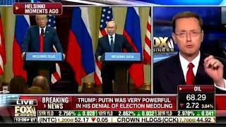 Even FOX NEWS Slammed Trump Over Putin Fiasco