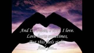 John Legend - I Love, You Love (Lyrics on Screen)