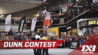 """Jordan """"Flight"""" Southerland vs. Michael Purdie - EPIC Dunk Contest - Mexico - 2016 3x3 World Tour Video"""