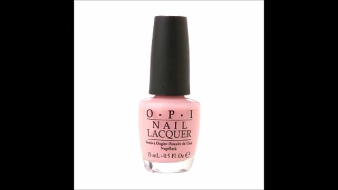 Opi Soft Shades Collection Nail Lacquer Passion Youtube
