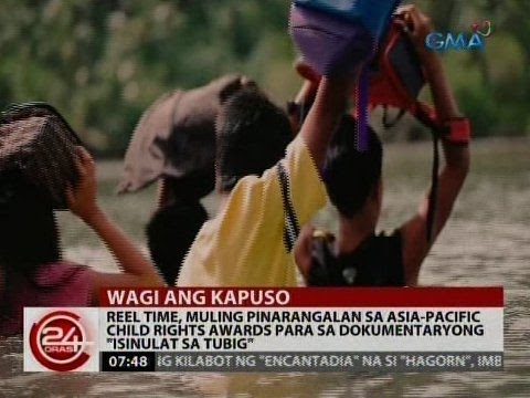 24 Oras: Reel Time, muling pinarangalan sa Asia-Pacific Child Rights Awards