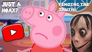 THE MOMO CHALLENGE — Original Footage + Creepy Peppa Pig Videos. Parents Watch This! (PROOF)
