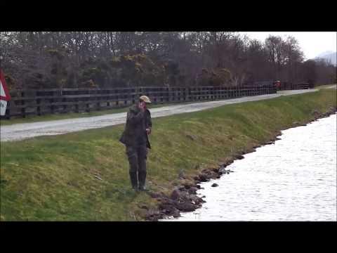 Fishing The Caledonian Canal Scotland
