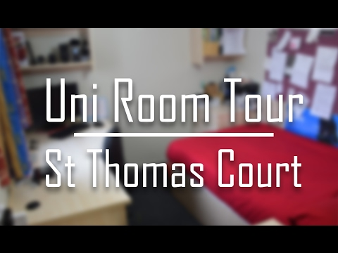 Room Tour 2017 | St Thomas Court | Plymouth Uni Halls