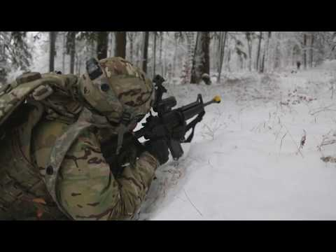 ALLIED SPIRIT VIII: U.S. Army Europe multinational military exercise