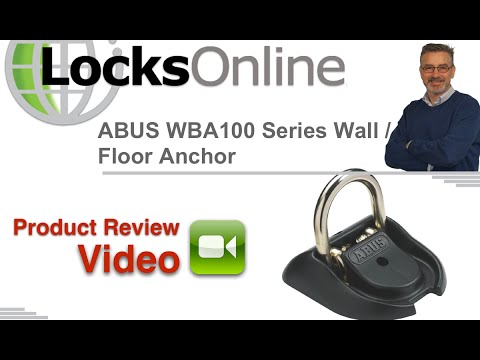Abus Granit Security Ground Anchor   LocksOnline Product Reviews