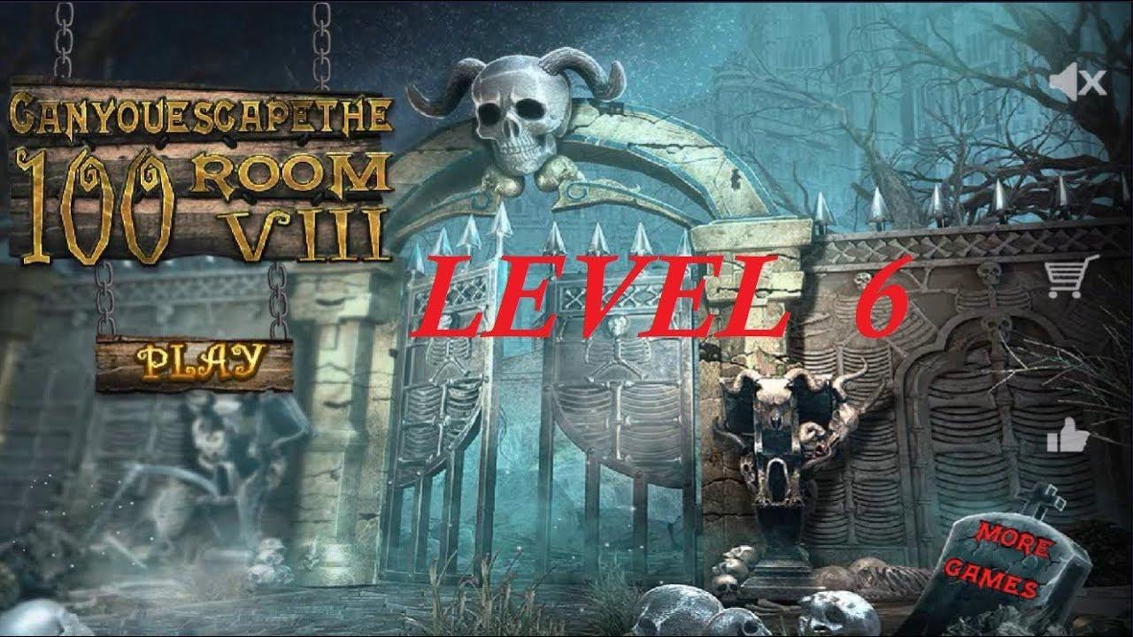 Walkthrough Level 6 - Can You Escape The 100 Room VIII Video