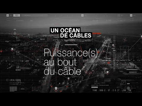 🔌 Internet : des câbles sous-marins pour faire transiter les données.