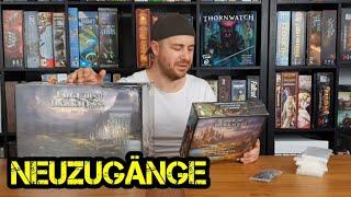 Neuzugänge - Folge 05 -  Einigermaßen gemäßigt - Übersicht - Brettspiele - Boardgame Digger