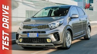 NEW KIA PICANTO X-LINE 2018 - FIRST TEST DRIVE