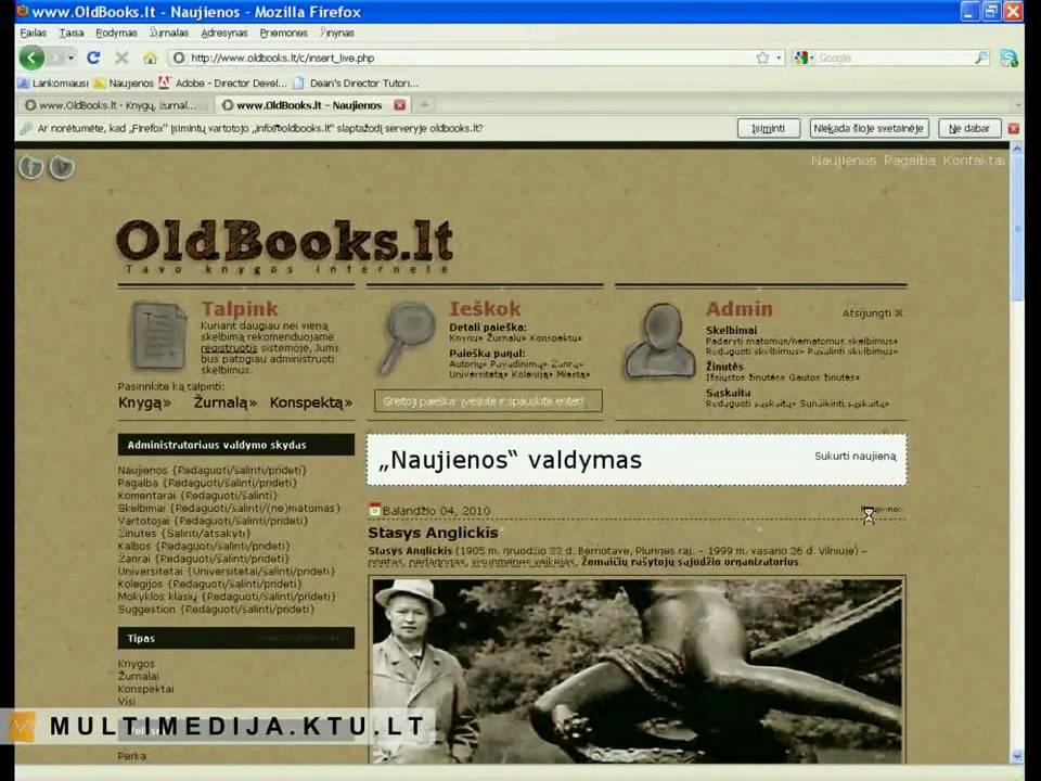 knygų prekybos sistema)