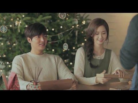 Lee Min Ho & Yoona Sweet scene Innisfree 2015