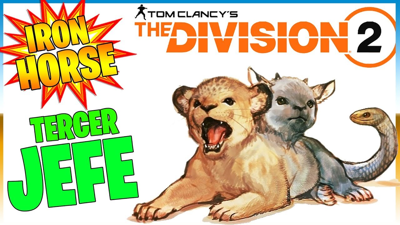 TERCER JEFE - Iron Horse THE DIVISION 2 https://www.twitch.tv/ELTITOYOUTUBE