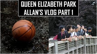 WE DROPPED A BALL IN QUEEN ELIZABETH PARK'S WATERFALL! - Allan's Vlog Part 1 of 2