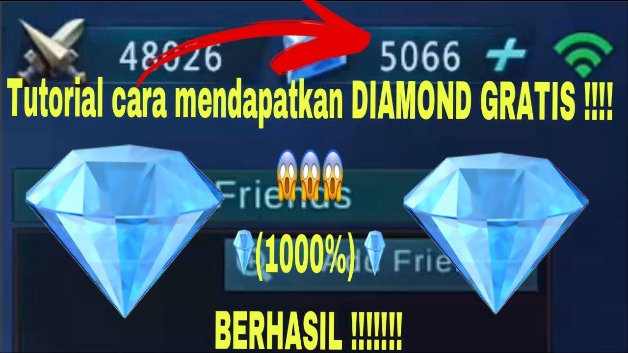 Cara Mendapatkan Diamond Gratis Di Mobile Legends 1000 Berhasil