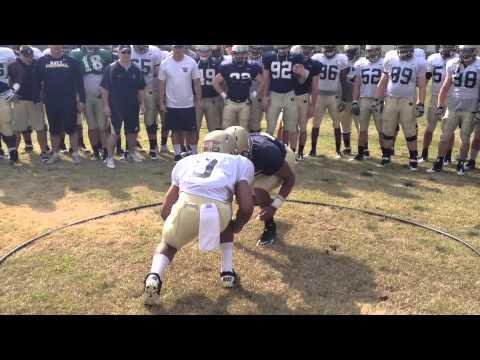 Navy Football Ring Drill