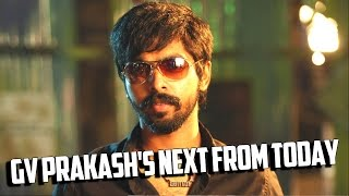 GV Prakash's next from today