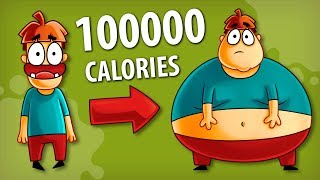 What if You Eat 100 000 Calories?