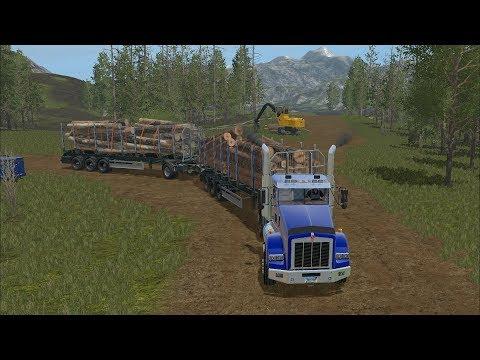 Farming Simulator 17 - Forestry on FDR Logging 027