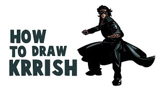 How To Draw Krrish | How To Draw Hritik Roshan Krrish | Drawing and Coloring Krrish 3 |