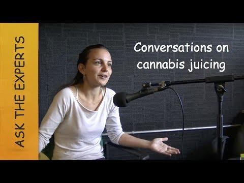 Raw Cannabis Juicing at Nimbin Radio