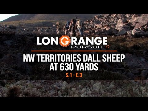 Long Range Pursuit | S1 E3 Northwest Territories Dall Sheep at 630 Yards
